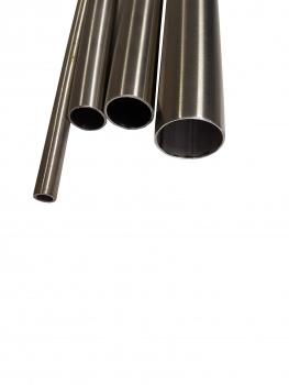 K240 Edelstahl Rundrohr V2A /Ø 40x2mm 170cm auf Zuschnitt L/änge 1700mm